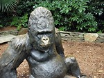 Free Stock Photo: Gorilla statue