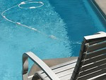 Free Stock Photo: Chair by the pool