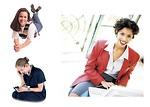 Free Stock Photo: Various girls and women