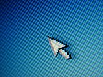 Free Stock Photo: Mouse pointer closeup