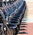 Free Stock Photo: Police officers on motorcycles