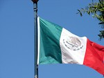 Free Stock Photo: Mexican flag