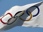 Free Stock Photo: Olympic flag