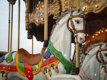 Free Stock Photo: Closeup of carousel horse
