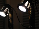 Free Stock Photo: Closeup of mini spotlights