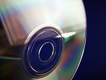 Free Stock Photo: CD closeup