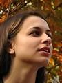Free Stock Photo: Closeup outdoor portrait of a teen girl