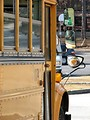Free Stock Photo: Closeup of a school bus