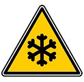 Free Stock Photo: Snow warning illustration