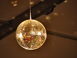 Free Stock Photo: Closeup of a disco ball