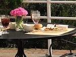 Free Stock Photo: An outdoor table setting