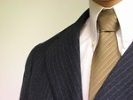 Free Stock Photo: Closeup of business man in suit and tie
