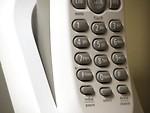 Free Stock Photo: Closeup of cordless telephone