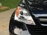 Free Stock Photo: Closeup of a car headlight