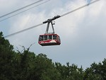 Free Stock Photo: Skyride cable car at Stone Mountain Park