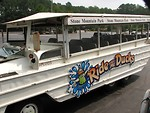 Free Stock Photo: Ride the Ducks tour boat at Stone Mountain Park