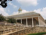 Free Stock Photo: Memorial Hall at Stone Mountain Park