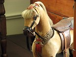 Free Stock Photo: Closeup of an old toy horse