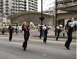 Free Stock Photo: Beautiful cheerleaders in the 2010 Atlanta Saint Patrick's Day Parade
