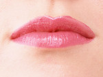 Free Stock Photo: Close-up of a woman's mouth and lips with pink lipstick