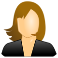 Free Stock Photo: Illustration of a female user icon