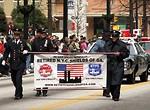 Free Stock Photo: Police officers in the 2010 Saint Patricks Day Parade in Atlanta, Georgia