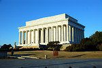 Free Stock Photo: The outside of the Lincoln Memorial in Washington, DC