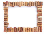 Free Stock Photo: A blank picture frame made of corks