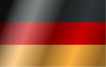 Free Stock Photo: Illustration of a flag of Germany with wind