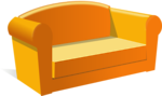 Free Stock Photo: Illustration of a sofa