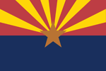 Free Stock Photo: Illustration of the Arizona state flag