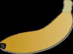 Free Stock Photo: Illustration of a banana