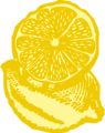 Free Stock Photo: Illustration of lemons