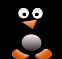 Free Stock Photo: Illustration of a cartoon penguin
