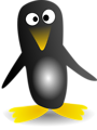 Free Stock Photo: Illustration of a cartoon penguin