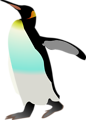 Free Stock Photo: Illustration of an Emperor penguin