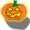 Free Stock Photo: Illustration of a jack-o-lantern