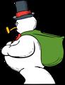 Free Stock Photo: Illustration of a snowman
