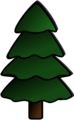 Free Stock Photo: Illustration of a Christmas tree