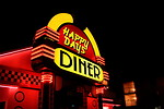 Free Stock Photo: A neon diner sign