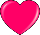 Free Stock Photo: Illustration of a pink heart