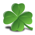 Free Stock Photo: Illustration of a four leaf clover