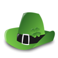Free Stock Photo: Illustration of a Saint Patrick's Day hat
