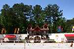 Free Stock Photo: Jousting arena at the 2011 Georgia Renaissance Festival