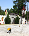 Free Stock Photo: A jousting arena at the 2011 Georgia Renaissance Festival