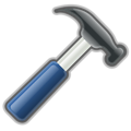 Free Stock Photo: Illustration of a hammer