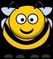 Free Stock Photo: Illustration of a cartoon bee