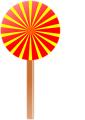 Free Stock Photo: Illustration of a lollipop