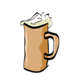 Free Stock Photo: Illustration of a mug of beer