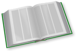 Free Stock Photo: Illustration of an open book
